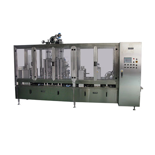 Horizontal Plastic Cup Fill & Seal Machine