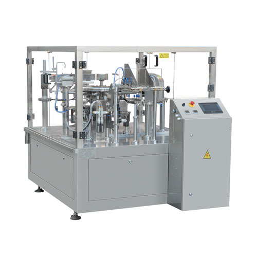 gusset pouch packaging machine