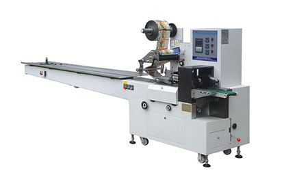 The working principle of Pillow packing machine